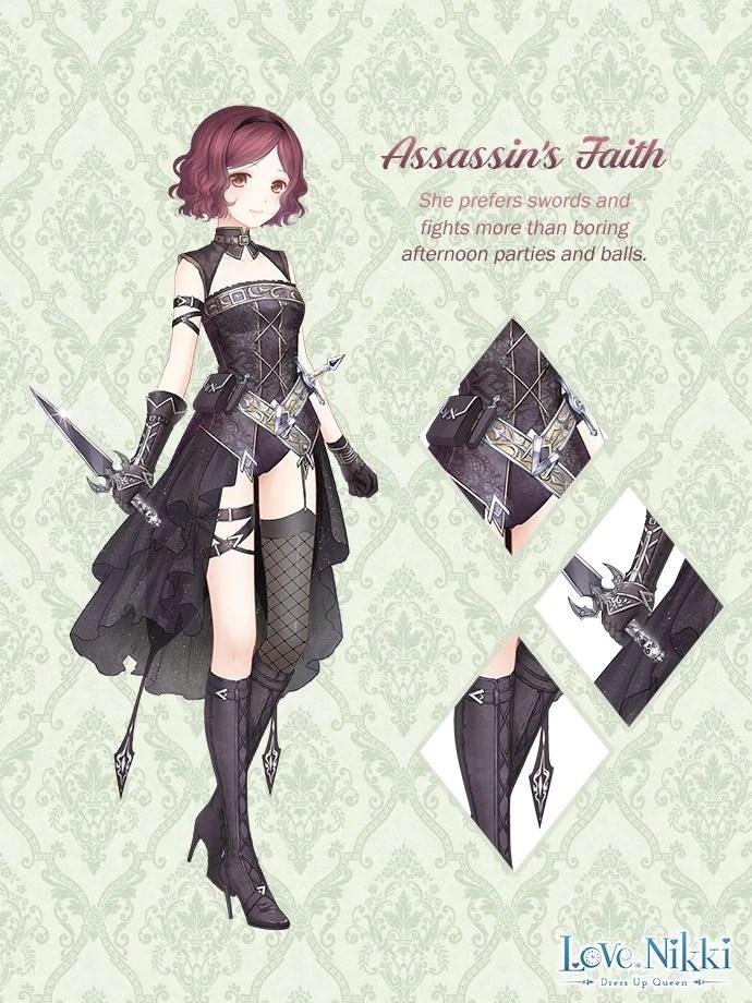 Assassins Faith  Love NikkiDress UP Queen Wiki