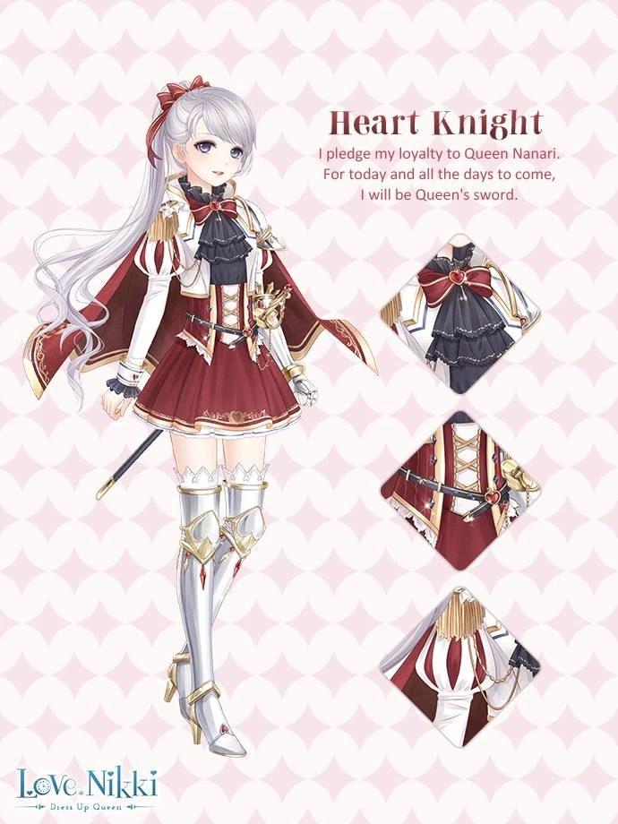 Heart Knight  Love NikkiDress UP Queen Wiki  FANDOM