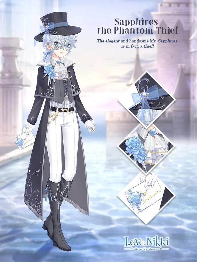 Sapphires the Phantom Thief  Love NikkiDress UP Queen