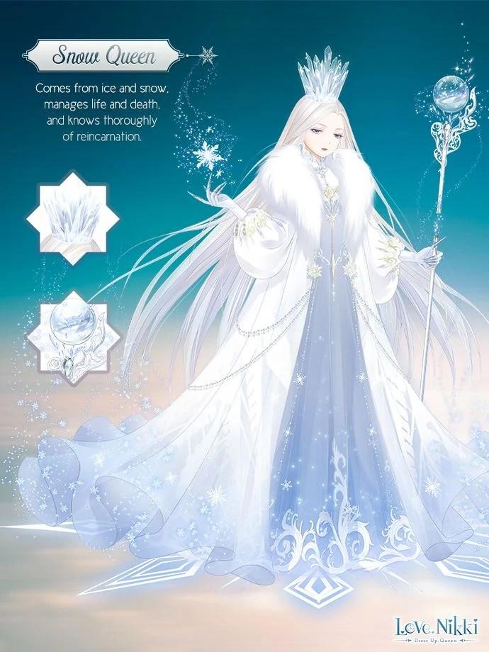 Snow Queen  Love NikkiDress UP Queen Wiki  FANDOM