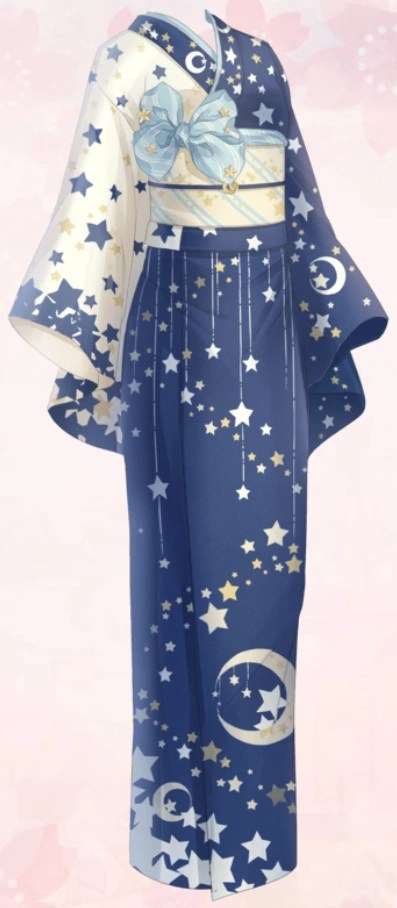 Star Patten Yukata  Love NikkiDress UP Queen Wiki