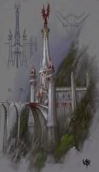 warhammer fantasy tower age elves reckoning medieval caledor buildings elven dragon war elf castle lucerne map lothern building wiki rpg