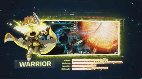 Video - MapleStory V Warrior Skills Showcase   MapleWiki   FANDOM powered by Wikia