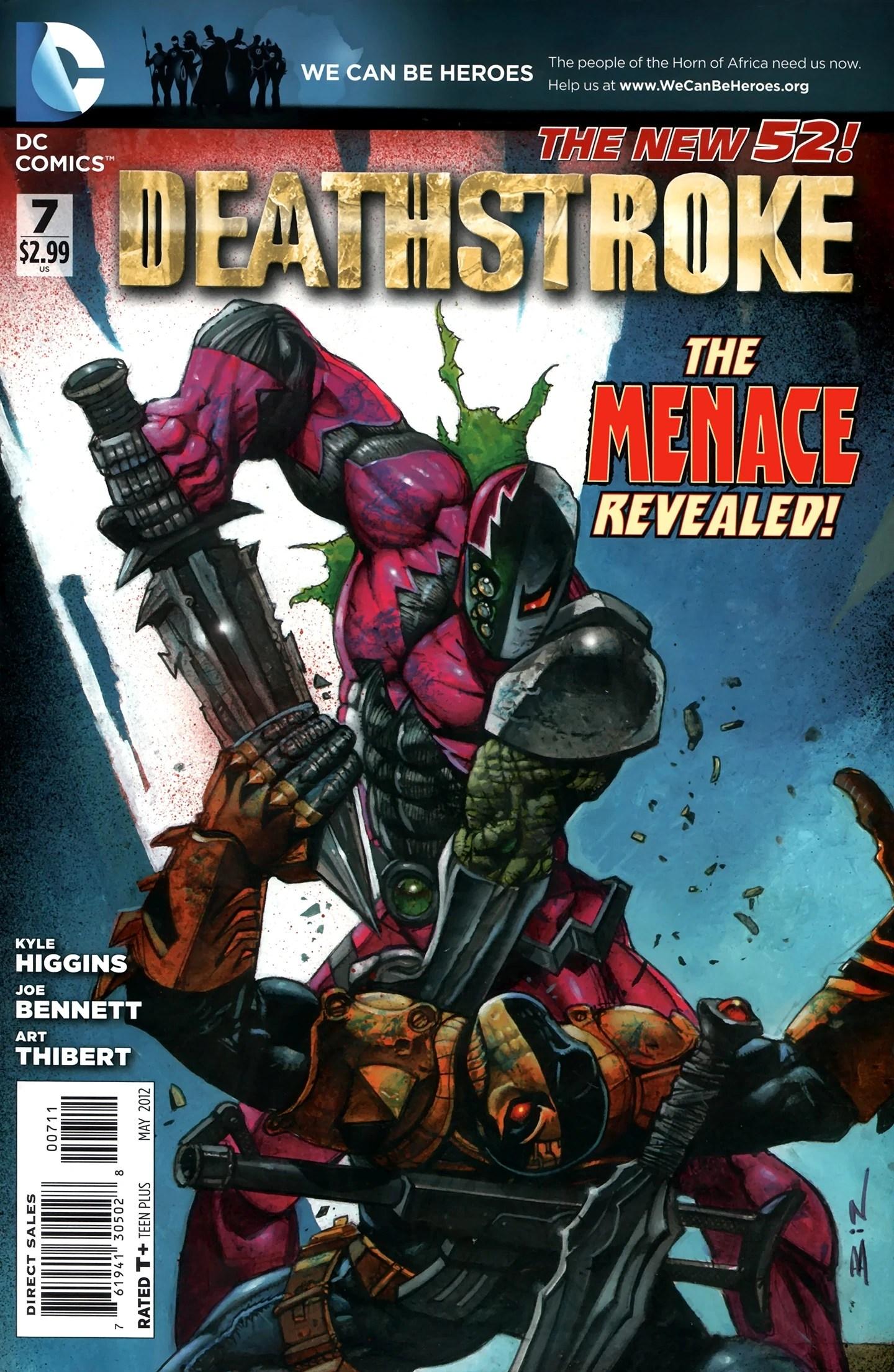 Deathstroke Vol 2 7 Dc Database Fandom Powered By Wikia
