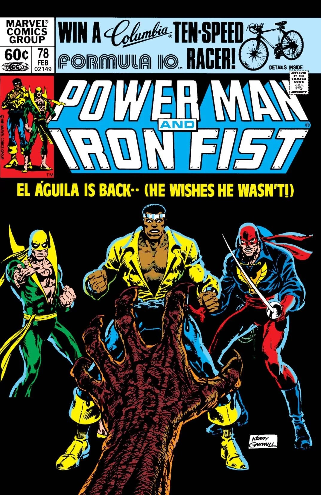 Power Man and Iron Fist Vol 1 78 Marvel Database