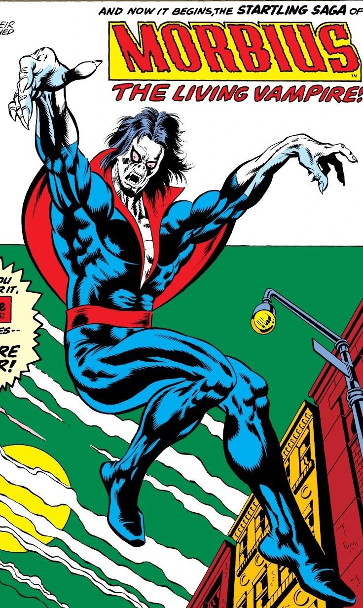 Michael Morbius Earth 616 Gallery Marvel Database