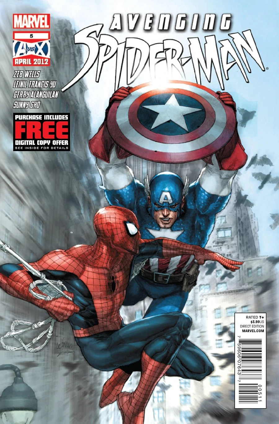 avenging spider man vol