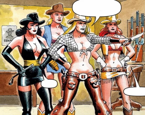 Cowgirls From Hell Earth 616 Marvel Database FANDOM