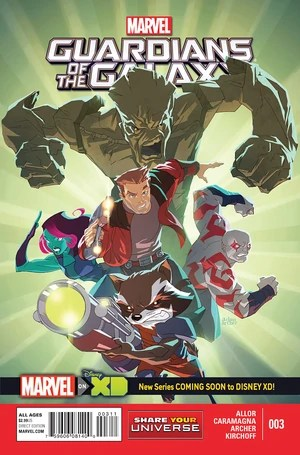 Marvel Universe Guardians Of The Galaxy Vol 1 3 Marvel
