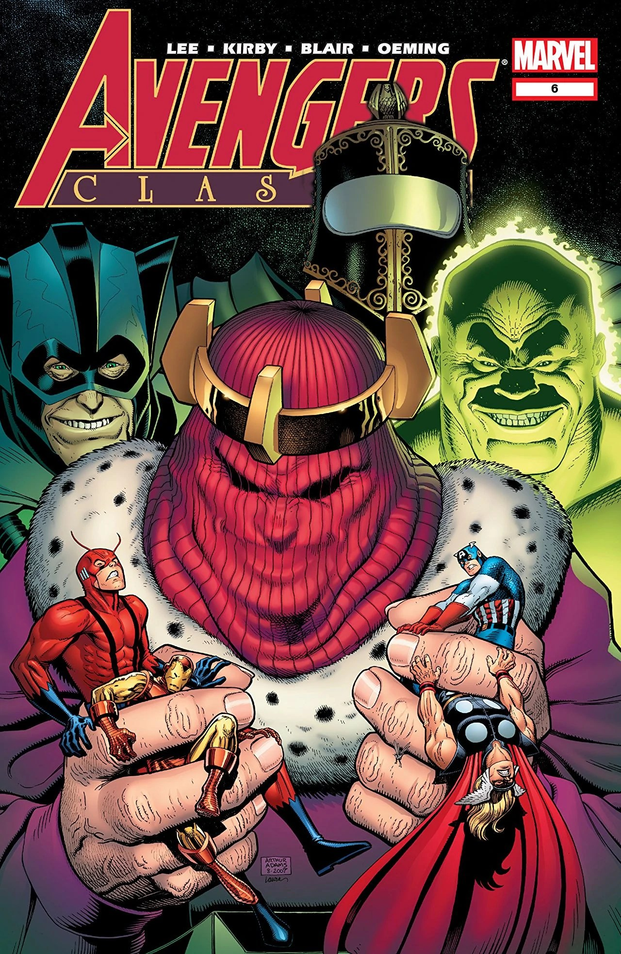 Avengers World Vol 1 6 Marvel Comics Database - Year of Clean Water