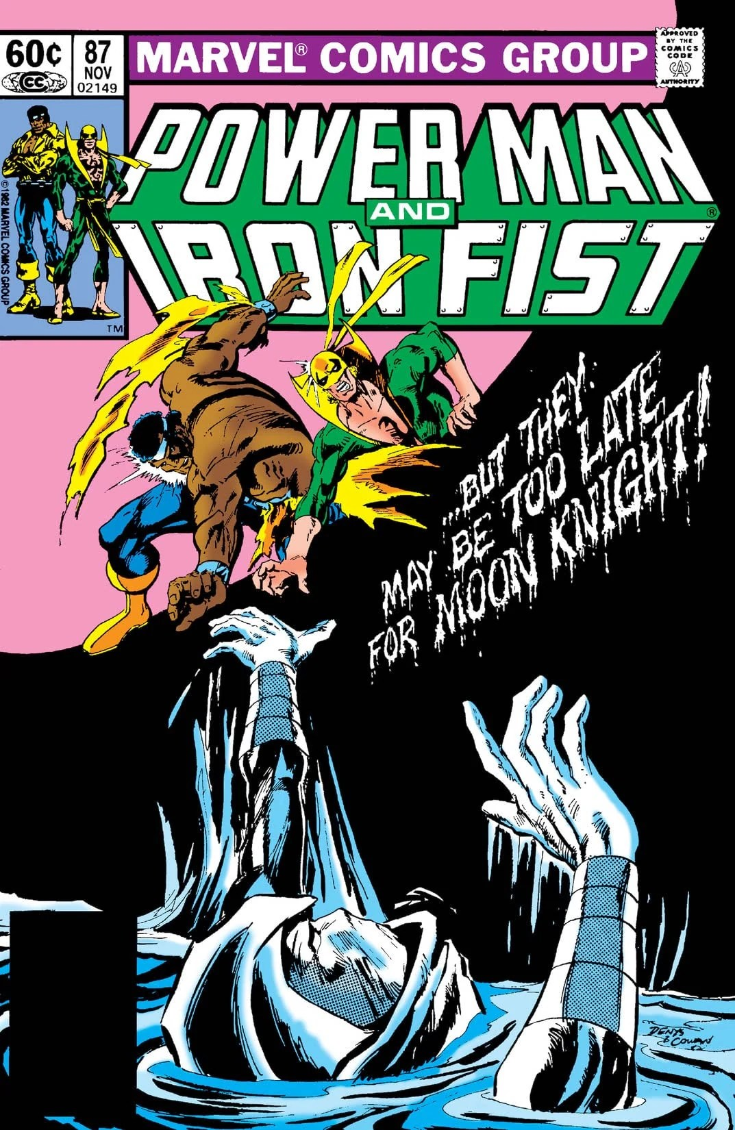 Power Man and Iron Fist Vol 1 87 Marvel Database