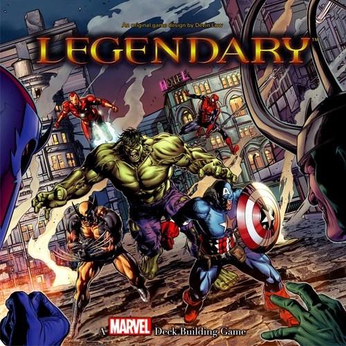 Legendary A Marvel Deck Building Game Marvel Database