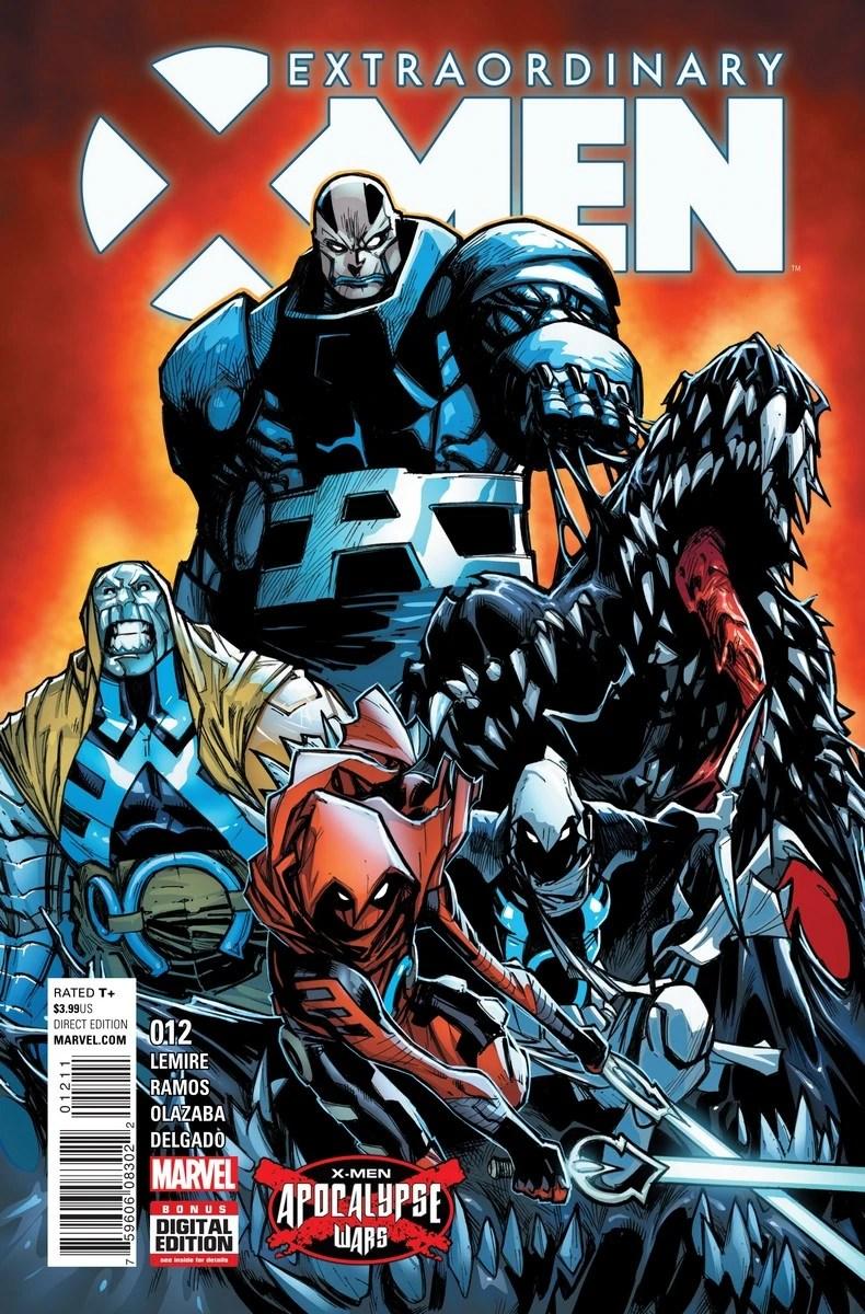 Extraordinary X Men Vol 1 12 Marvel Database FANDOM Powered By Wikia