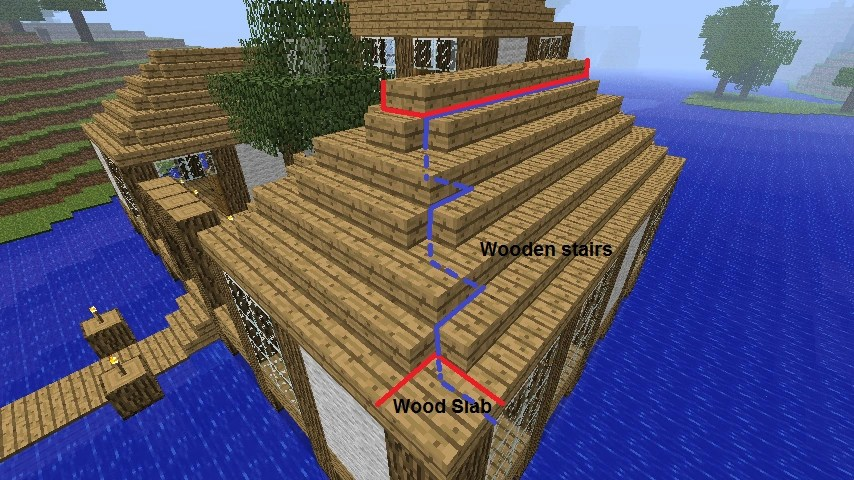 Image Roof Minecraft Constuctions Wiki FANDOM Powered By