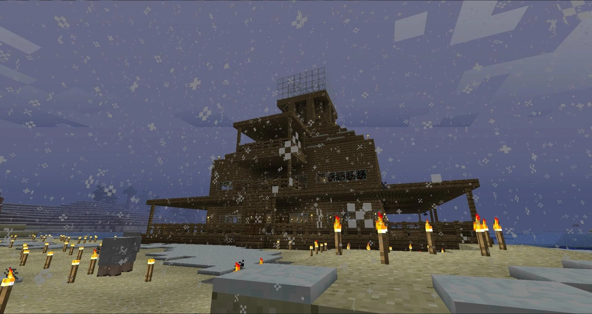 Minecraft Mansion Floor Plans