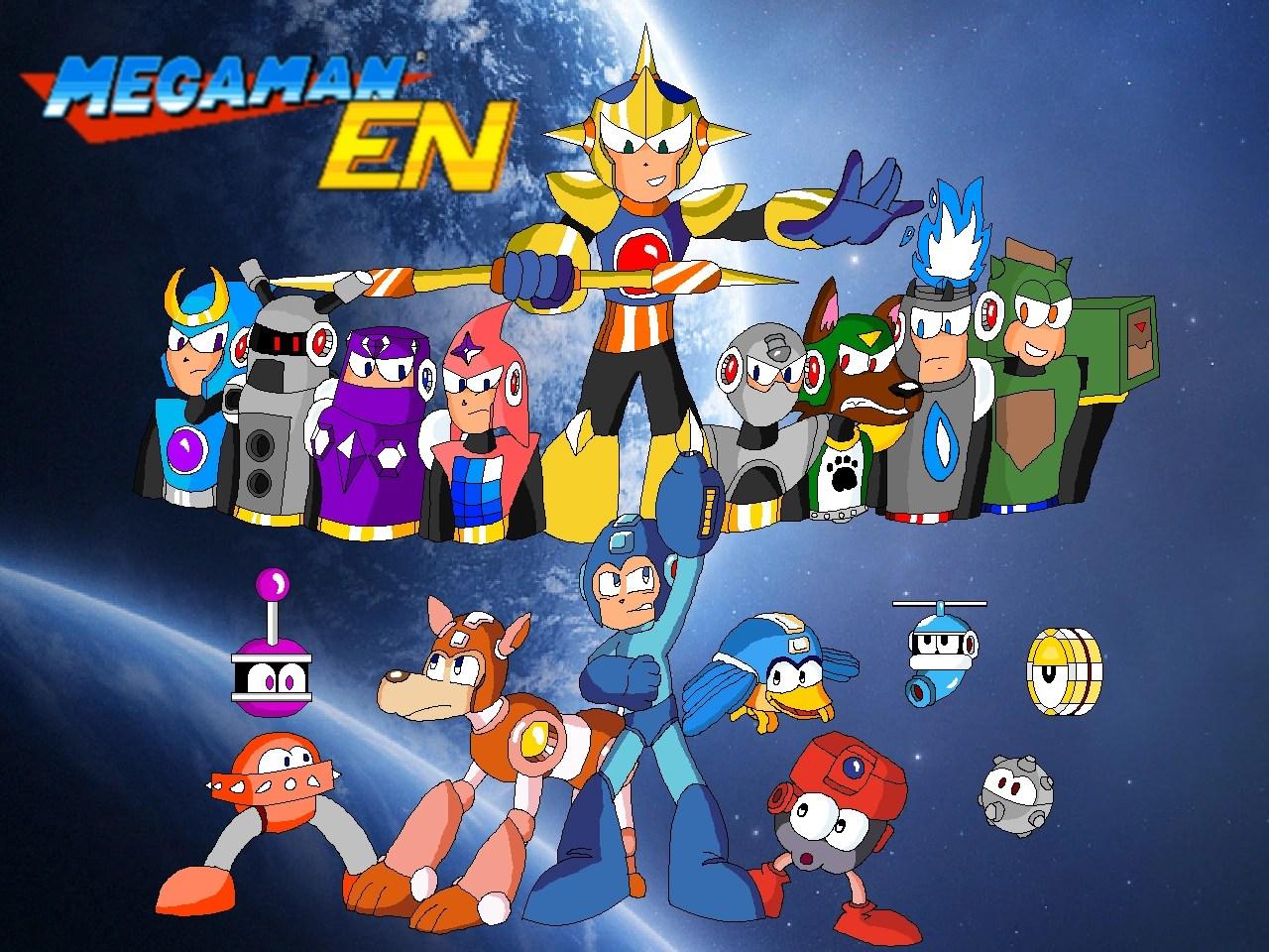 Mega Man EN  Mega Man Fanon Wiki  FANDOM powered by Wikia
