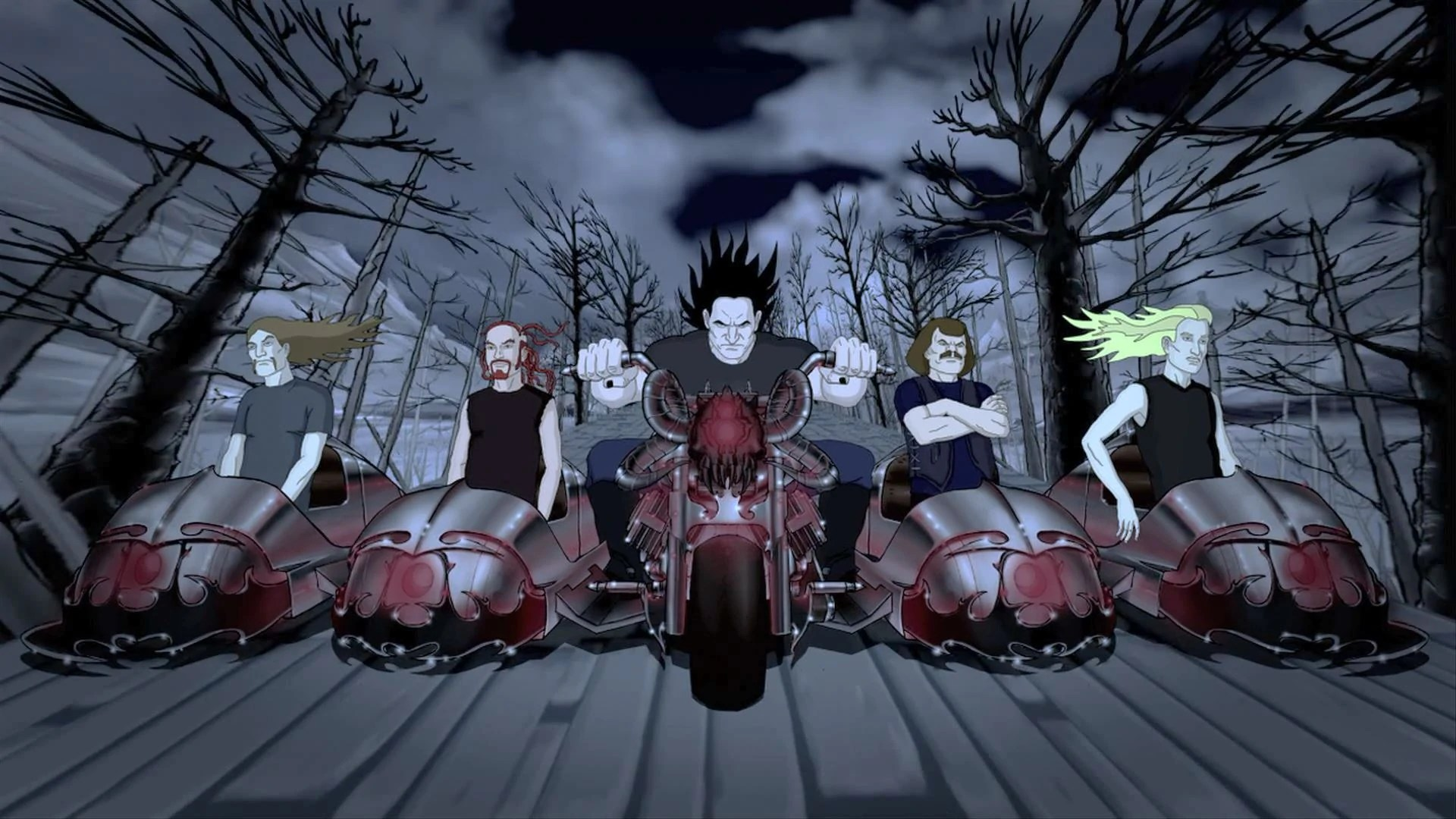 Murdercycle  The Metalocalypse Wiki  FANDOM powered by Wikia