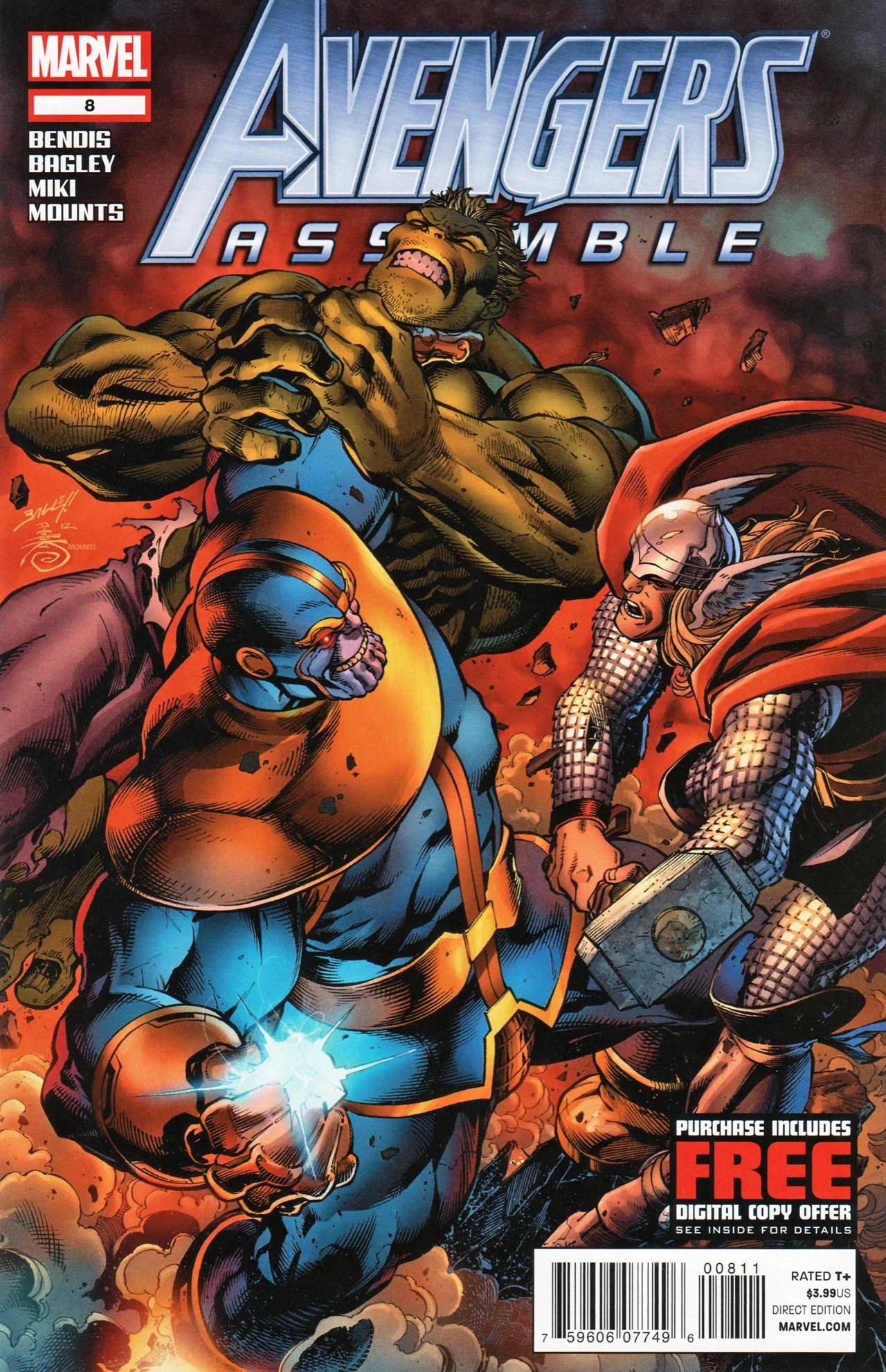 Avengers Assemble Vol 3 8 | The Mighty Thor | FANDOM powered by Wikia
