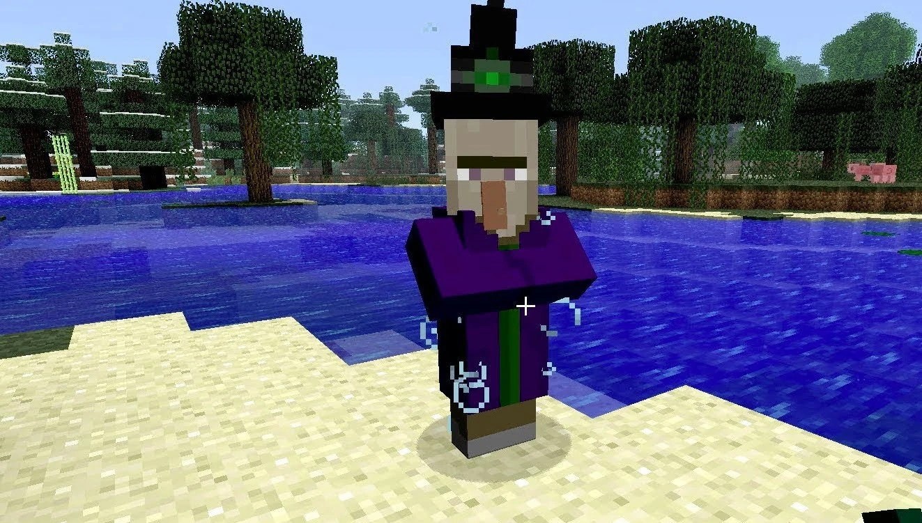 Witch Minecraft Mobs Wiki Fandom Powered By Wikia