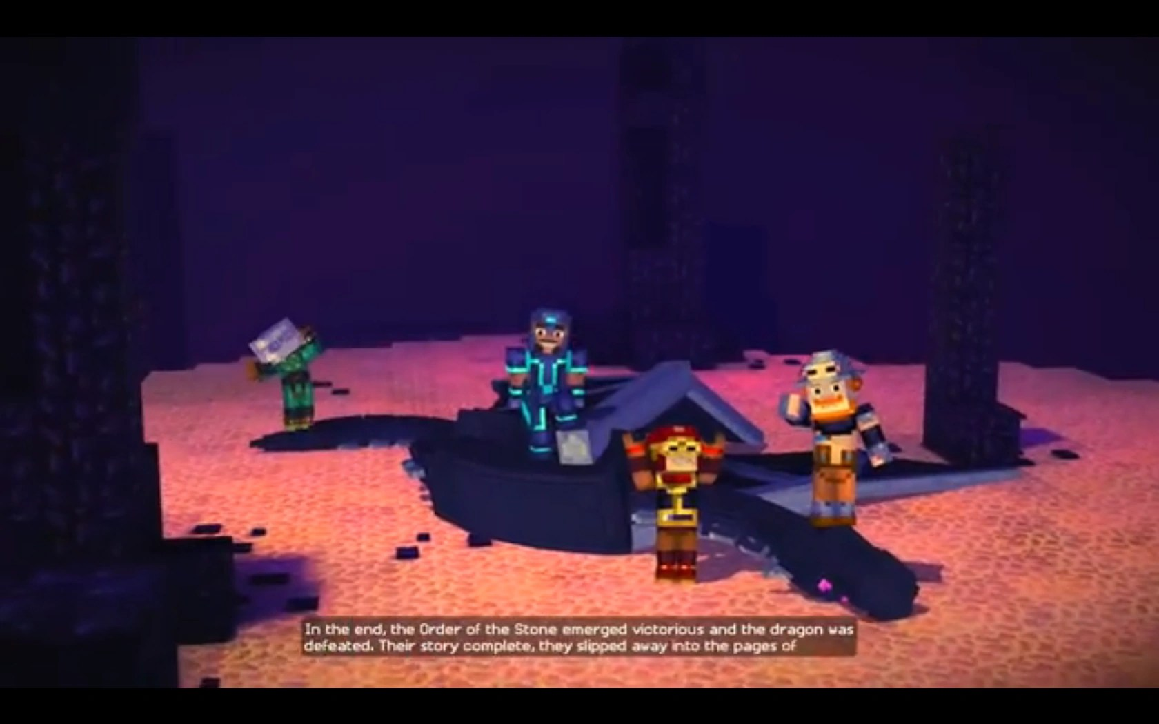 Minecraft Wallpaper Enderdragon Cute Ender Dragon Minecraft Story Mode Wiki Fandom Powered