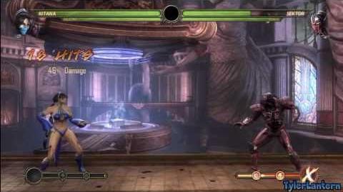 Video Mk9 Kitana Combo Compilation Mortal Kombat 9