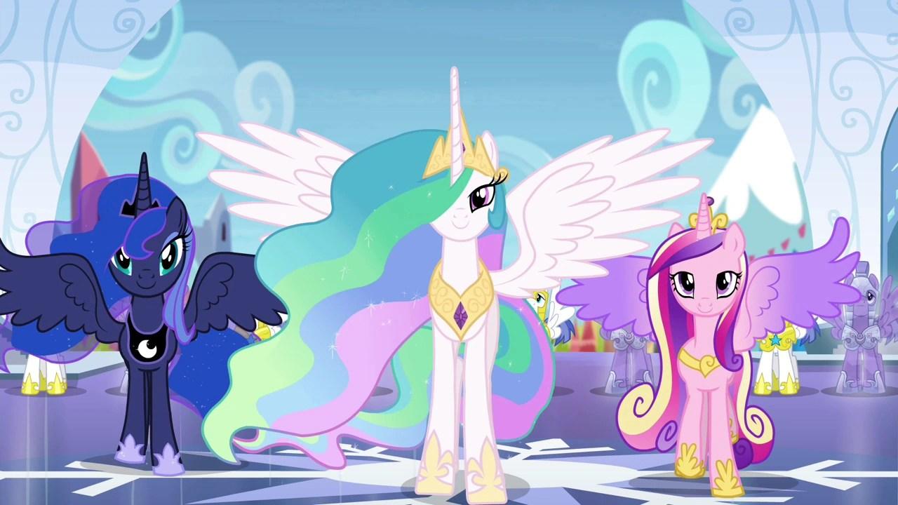 Prince And Princess Celestia Solaris