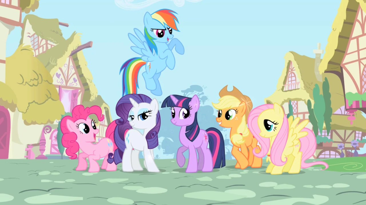 ponies little pony friendship