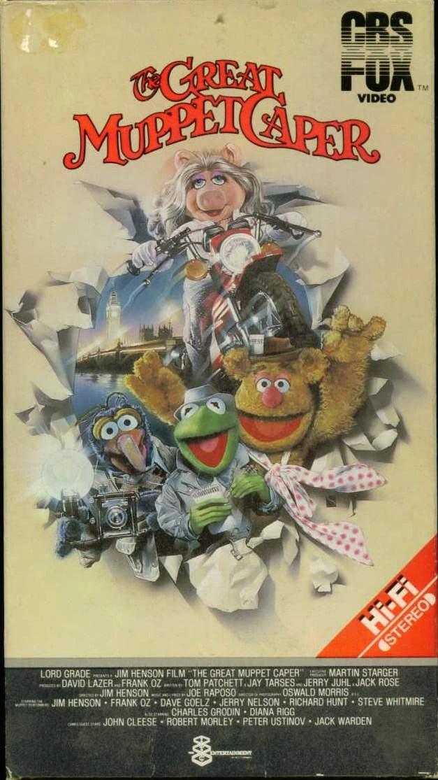 The Great Muppet Caper Video Muppet Wiki Fandom
