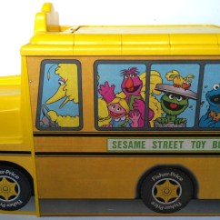 Cookie Monster Chair Special Needs Image Fisher Price Sesame Street Toy Box And 2 Jpg