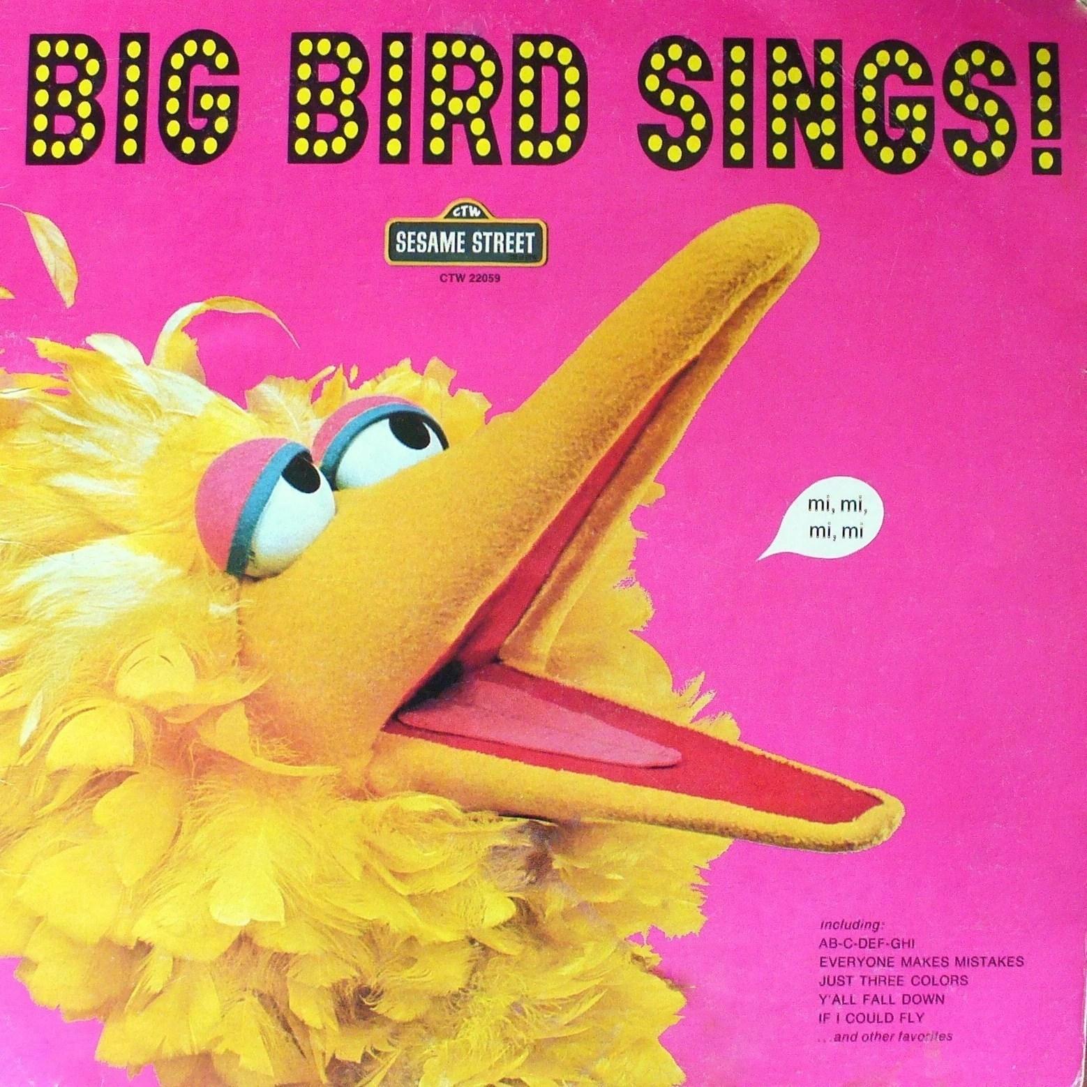 big bird sings album