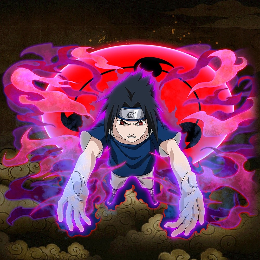 sasuke uchiha curse mark