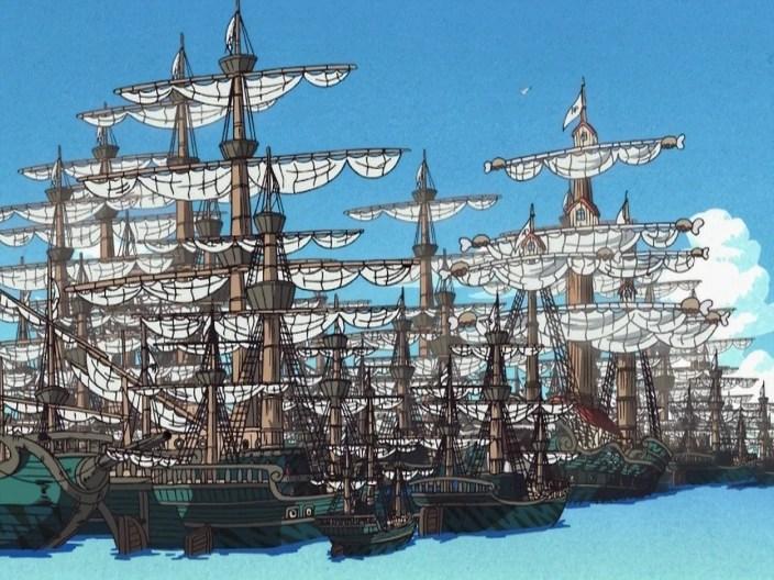 Marine Ships   One Piece Wiki   FANDOM powered by Wikia