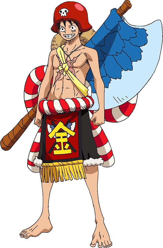 Image Luffy Film Gold Kintaro Outfit Png One Piece