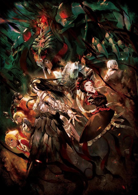 Overlord Light Novel Wallpaper Ainz - Year of Clean Water