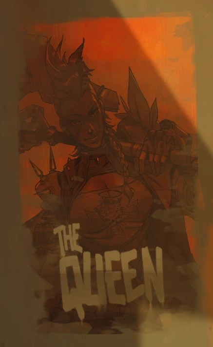 Queen Of Junkertown Overwatch Wiki FANDOM Powered By Wikia