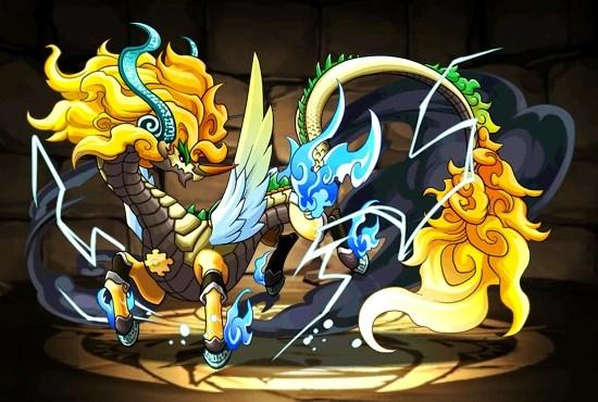 Phantom Thunder Dragon, Sagirinokami   Puzzle & Dragons Wiki   FANDOM powered by Wikia