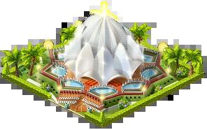 lotus temple paradise island