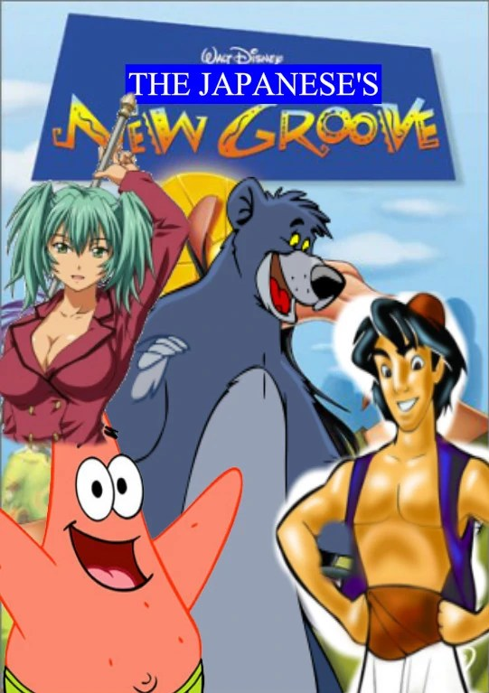 The Japaneses New Groove  The Parody Wiki  FANDOM