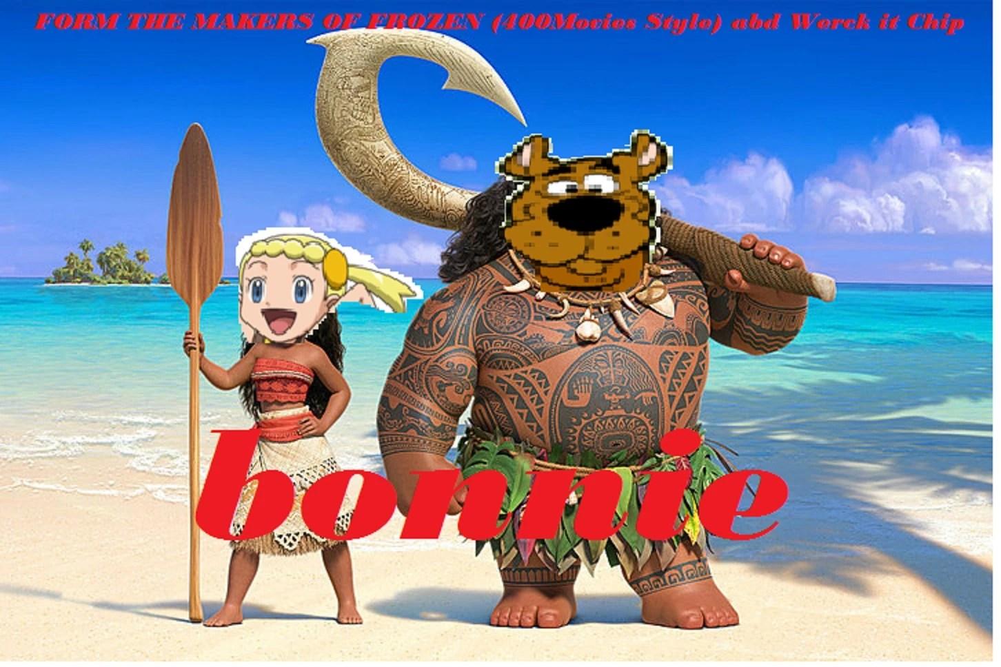 Bonnie Moana Parody Wiki Fandom Powered Wikia