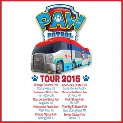 PAW Patrol Tour 2015  PAW Patrol Wiki  FANDOM powered by Wikia