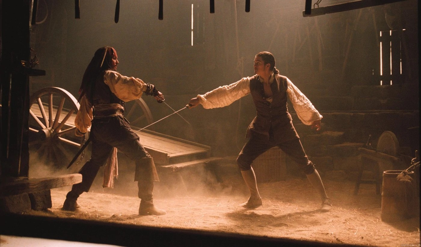 Pirates of the Caribbean Sword Fight