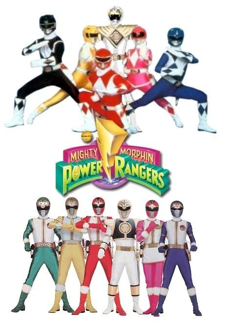 Mighty Morphin Power Rangers Season 2 Fanon Version