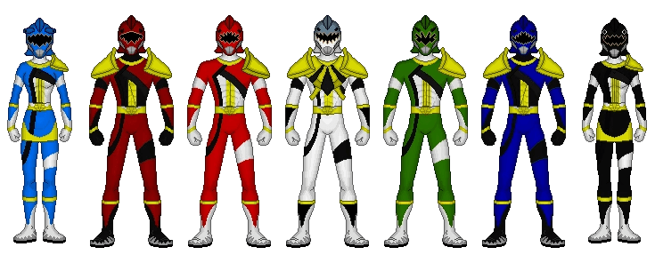 Image Megalodon Rangers Updated Png Power Rangers