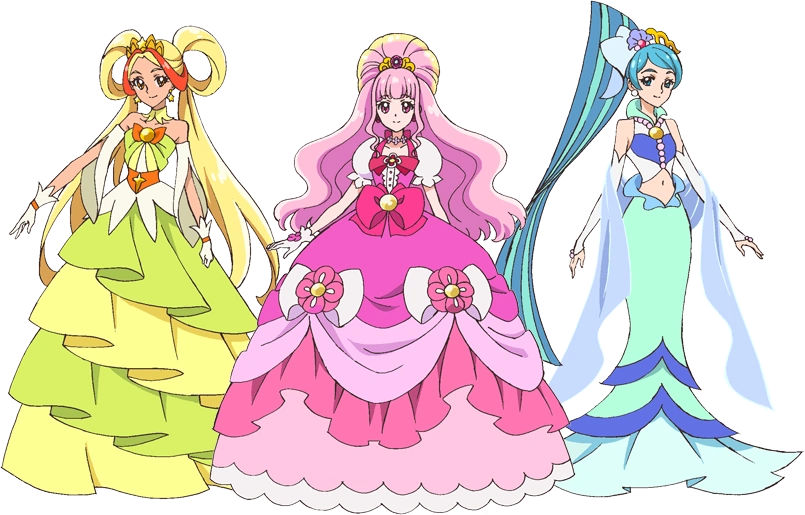 Falling Action Of The Yellow Wallpaper Past Princess Pretty Cure Pretty Cure Wiki Fandom