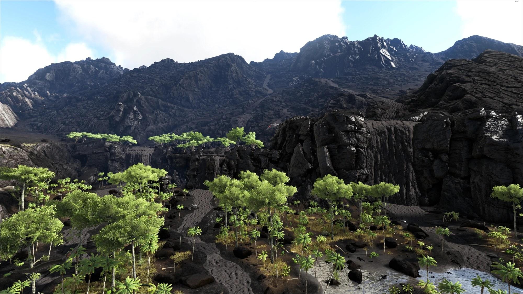 Ark Ragnarok Volcano Map - Year of Clean Water