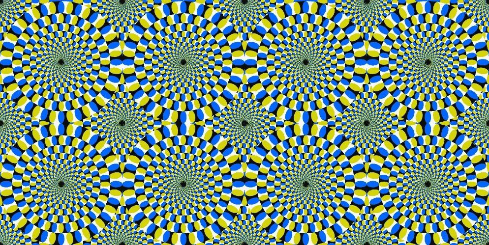optical illusion random ness