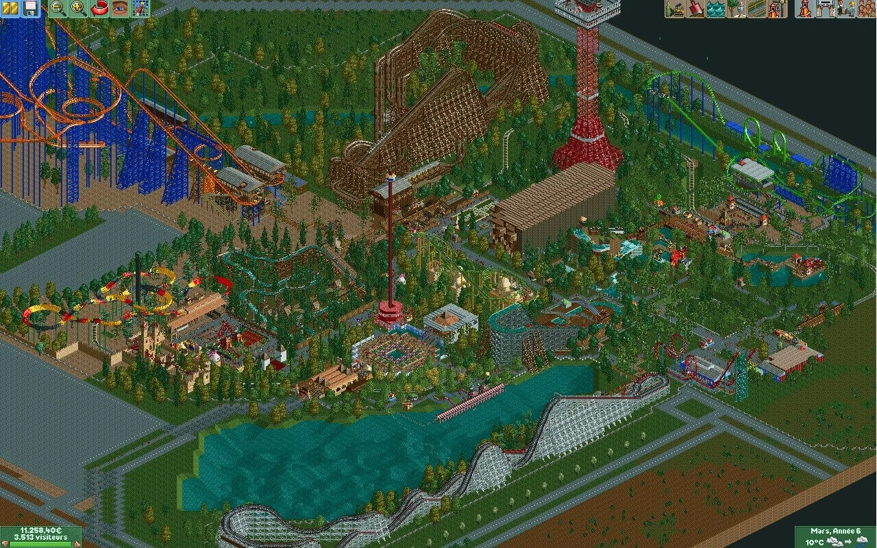 20+ Open Roller Coaster Tycoon Pictures and Ideas on Meta Networks