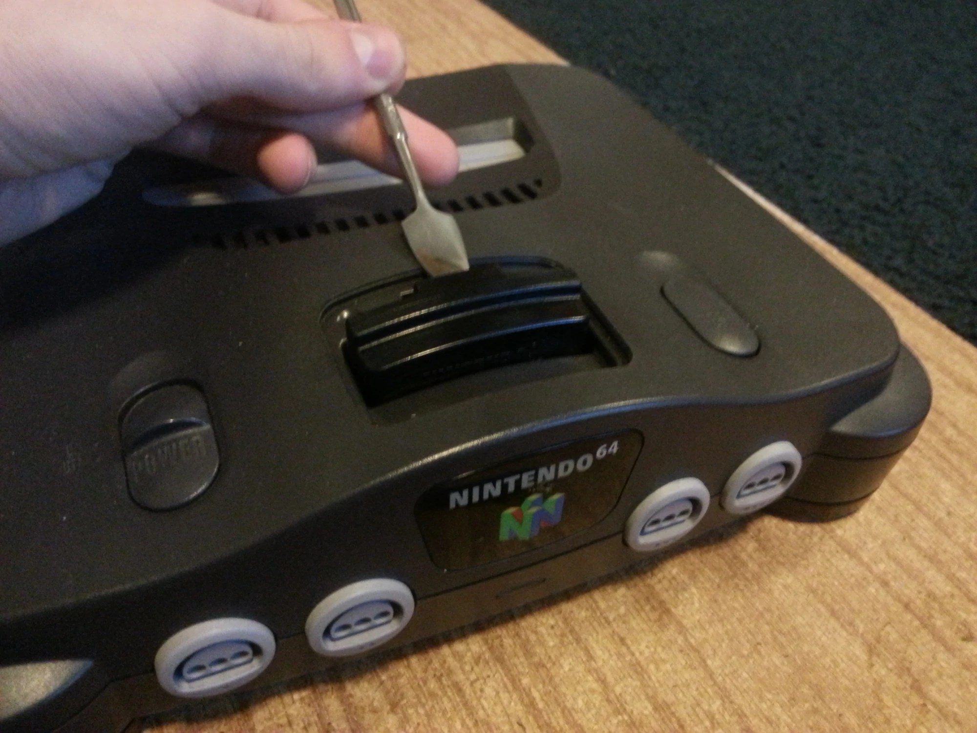 hight resolution of nintendo 64 console diagram