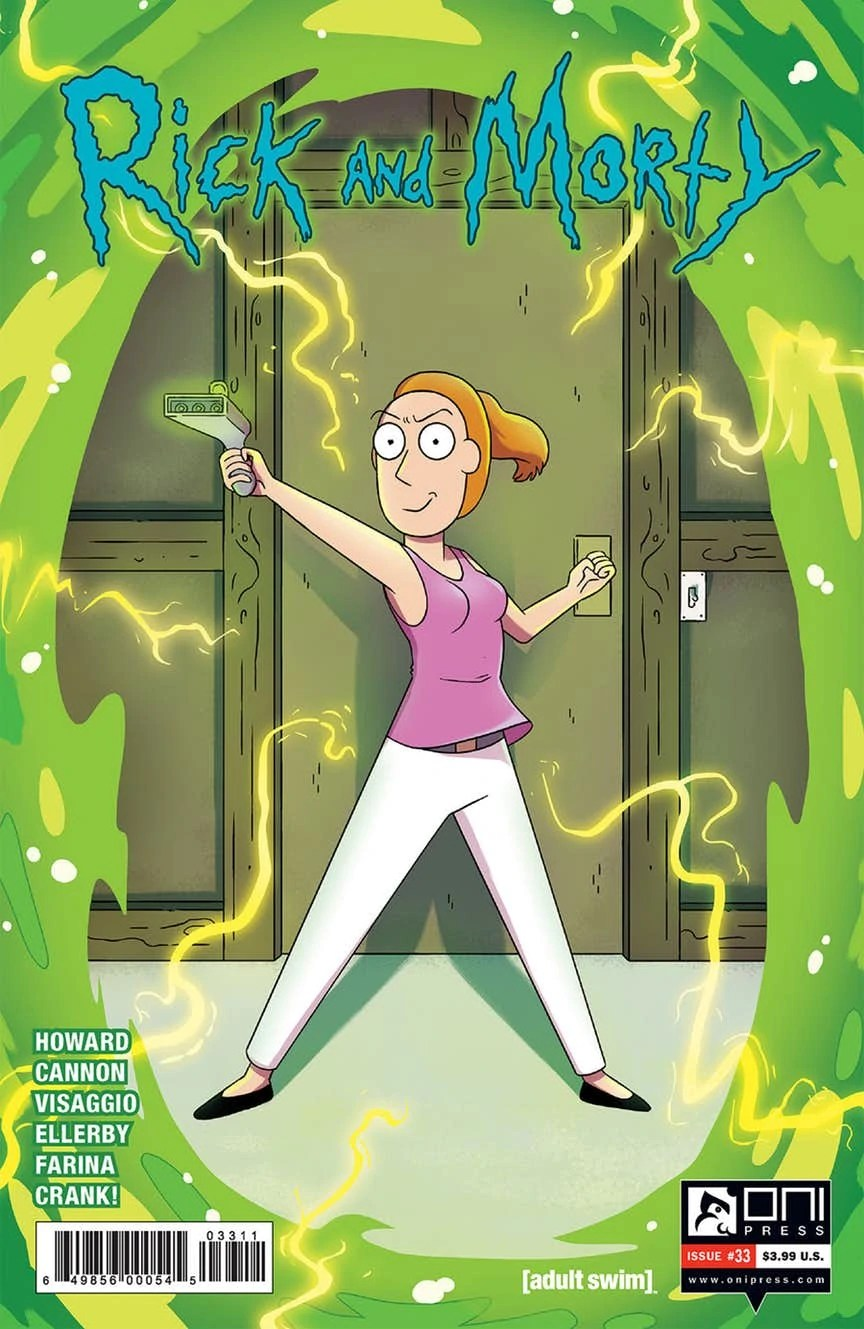 Rick and Morty Issue 33 | Rick and Morty Wiki | Fandom
