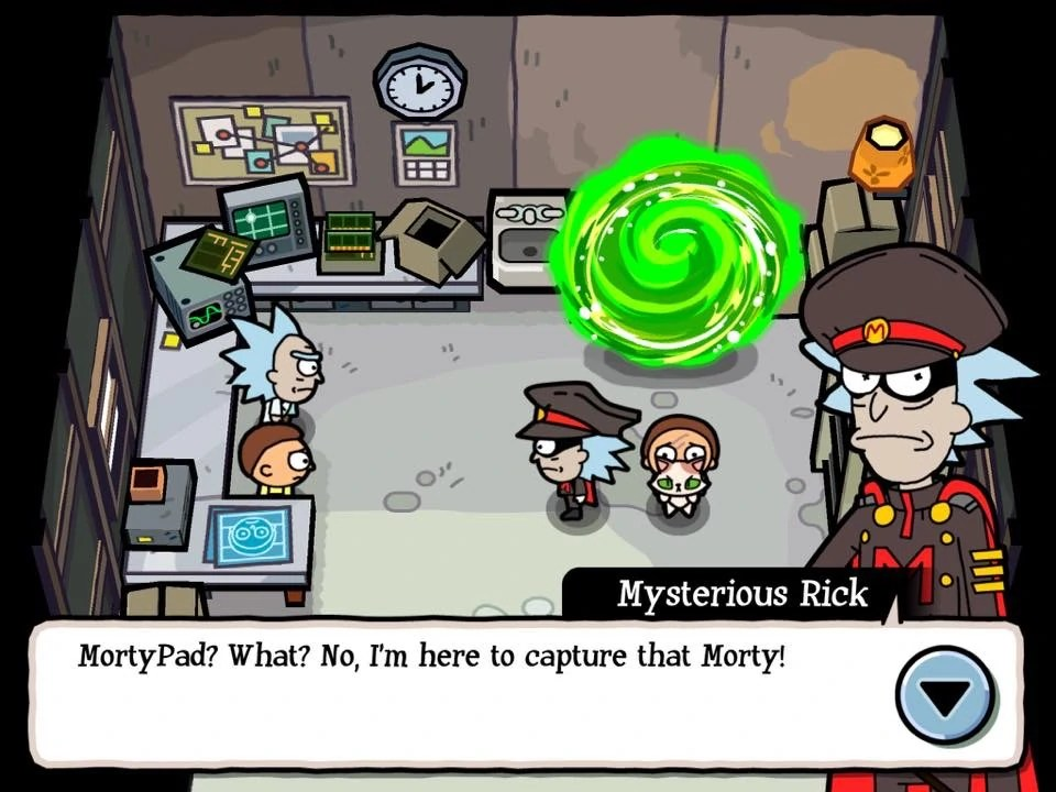 Mysterious Rick Rick And Morty Wiki Fandom Powered By